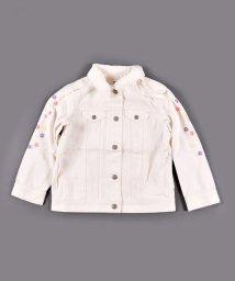 SLAP SLIP/袖フラワー刺繍ジャケット/502938160