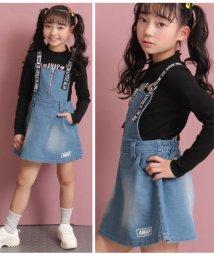 ANAP KIDS/ハートジップ付きジャンパースカート/502987254
