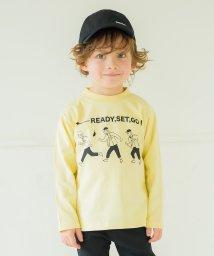 branshes/線画プリントモックネックTシャツ(80~150cm)/502987806