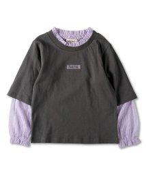 RADCHAP/レース重ね着長袖Tシャツ(90~150cm)/502987817