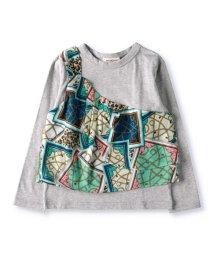 RADCHAP/ワンショルビスチェ風長袖Tシャツ(90~150cm)/502987818