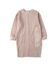 RADCHAP/たてロゴ長袖ワンピース(90~150cm)/502987820