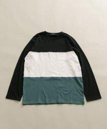 ITEMS URBANRESEARCH/切替長袖Tシャツ/502988518