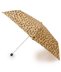 pink adobe/<晴雨兼用><ケース付き>レオパード折り畳み傘/502988719