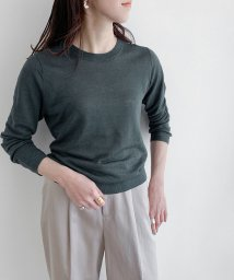 ROPE' mademoiselle/リネンシルク7分袖プルオーバー/502989893