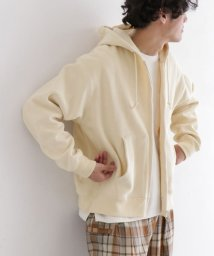 URBAN RESEARCH DOORS/unfil Pa&Co-terry zip up hoodie/502990133