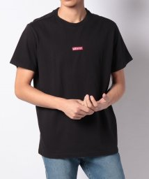 LEVI'S LADY/【MEN】SS RELAXED BABY TAB T BABY TAB BLACK + C/502928587
