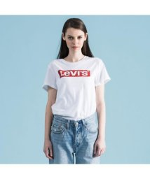 LEVI'S LADY/【WOMEN】THE PERFECT TEE NEW RED BOX TAB WHITE GR/502928592