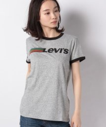 LEVI'S LADY STYLE/【WOMEN】PERFECT RINGER TEE RUNNING LEVI'S SMOKES/502928594
