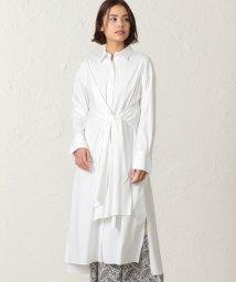 S.ESSENTIALS/ラザーブロード ツイストシャツドレス/502962147
