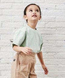 green label relaxing (Kids)/〔WEB限定〕コットン天竺オーバーサイズTシャツ/502967284