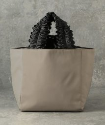 LE JOUR/【CACHELLIE】FRILL HANDLE NYLON TOTE(S)/502967391