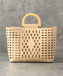 LE JOUR/【CACHELLIE】ECO LEATHER*WOODHANDLE 2WAY TOTE/502967396
