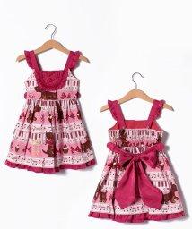 ShirleyTemple/メロディレッスンプリントジャンパースカート(100~110cm)/502969142