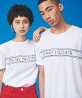 TOMMY HILFIGER/【オンライン限定】ロープストライプTシャツ/502971297