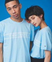TOMMY HILFIGER MENS/【オンライン限定】ロープストライプTシャツ/502971297