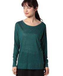 BENETTON (women)/リヨセルコットンロングTシャツ・カットソー/502976582