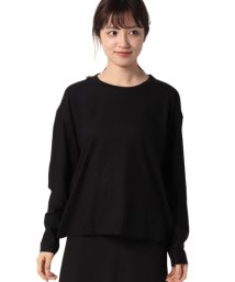 BENETTON (women)/ルーズフィットロングTシャツ・カットソー/502976584
