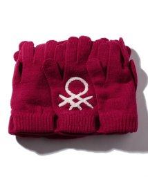 BENETTON (women)/グローブモチーフニット帽・ニットキャップJCC/502976598