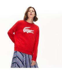 LACOSTE/ワニデザインクルーネックセーター/502990521