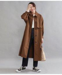 AULI/袖ボリュームステンカラーコート/502990611