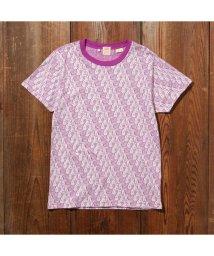 Levi's/LEVI'S(R) VINTAGE CLOTHING グラフィックTシャツ EARTH GRAPHIC TEE PURPLE MULTI/502990732