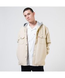 Levi's/HOODED JACKSON OVERSHIRT FOG/502990792