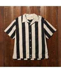 Levi's/FLAG SHIRT BLACK WHITE/502990809