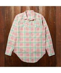 Levi's/LEVI'S(R) VINTAGE CLOTHING WESTERN SHORTHORN PINK MULTI/502990810