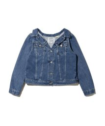 Levi's/LEVI'S(R) MADE&CRAFTED(R) OFF THE SHOULDER  トラッカージャケット LT WASH DENIM/502990826