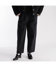 Levi's/BALLOON PLEATED BALLOON BLACK FINE TWILL/502990917