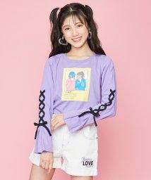 JENNI love/袖レースアップロンT/502991062