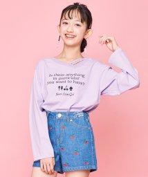 JENNI love/アシメ襟ロンT/502991076