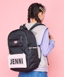JENNI love/バイカラーポーチ付きリュック/502991082