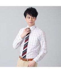 BRICKHOUSE/【ディズニー】ワイシャツ長袖形態安定 ボタンダウン ネイビー ジャスト/502991163