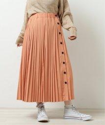 DOUBLE NAME/サイド釦プリーツスカート/502991389