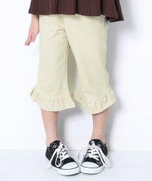 devirock/裾フレア7分丈パンツ/502992732