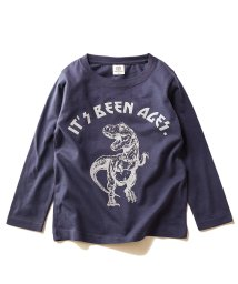 devirock/デビラボ プリント長袖Tシャツ/502992738