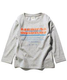 devirock/デビラボ プリント長袖Tシャツ/502992739