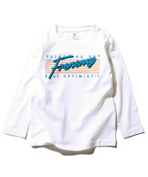 devirock/デビラボ プリント長袖Tシャツ/502992740