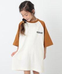devirock/ラグラン7分袖ワンピース/502992746