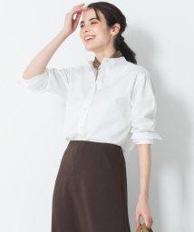NIJYUSANKU(LARGE SIZE)/【中村アンさん着用】Cancliniカラーレス シャツ(番号F44)/502992842