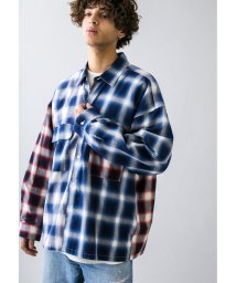 monkey time/<monkey time> SWITCHING OMBRE CHECK SHIRT/オンブレチェックシャツ/502993388