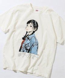 JOURNAL STANDARD relume Men's/《予約》【EDWIN / エドウィン】ジーパン女子×江口寿史Tシャツ 「Boyfriend style1」/502993769