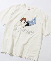 JOURNAL STANDARD relume Men's/《予約》【EDWIN / エドウィン】ジーパン女子×江口寿史Tシャツ「Hips」/502993771