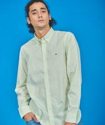 TOMMY HILFIGER/ストライプスリムフィットシャツ/502971293