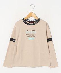 Lovetoxic/ロゴリブ衿Tシャツ/502975864