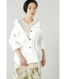 ROSE BUD/ウエストベルト付シャツジャケット/502991035