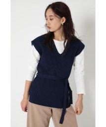 SHEL'TTER SELECT/Vネックニットベスト(Vneck Knit Vest)/502994223
