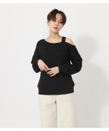 AZUL by moussy/ONE SHOULDER SWEAT PO/502994235